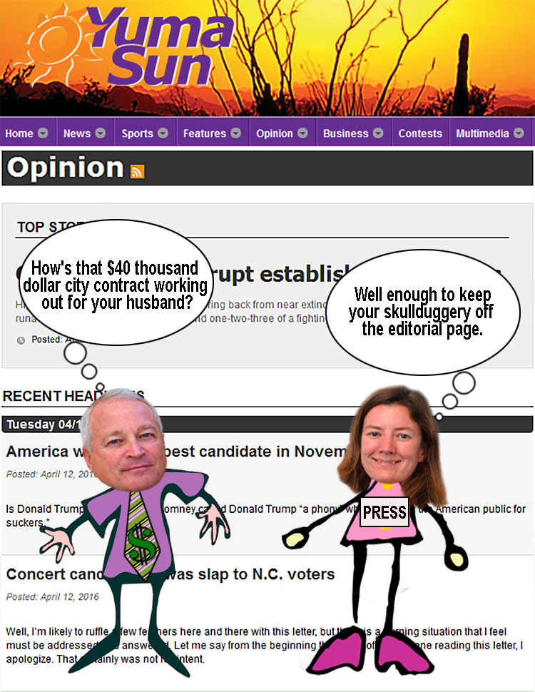 Opinion page image
